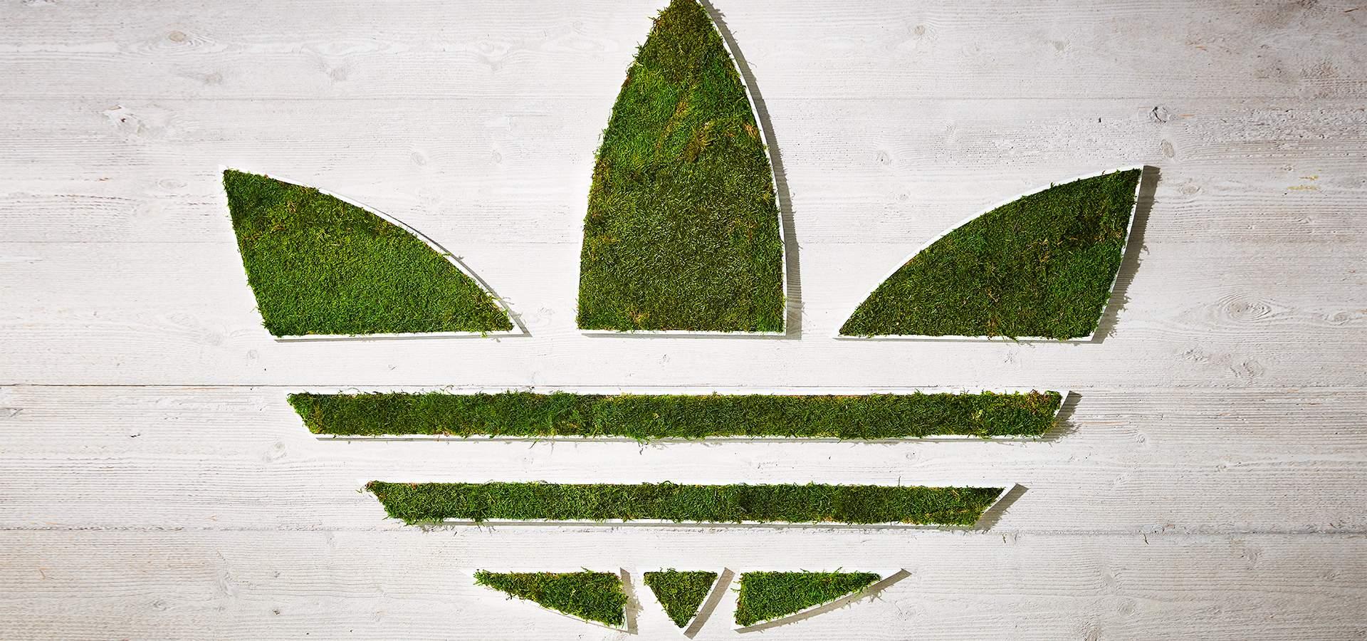 Logo Végétal Adidas