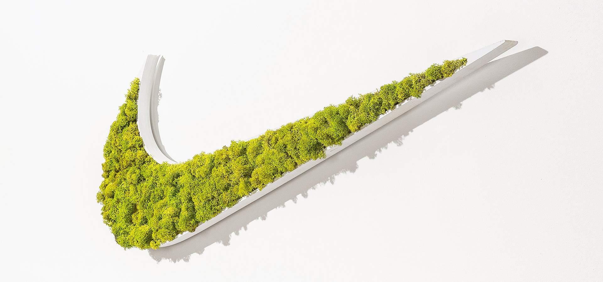 Logo Végétal Nike