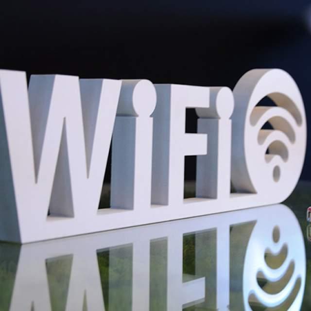 Posé Lettre logo 3D relief
